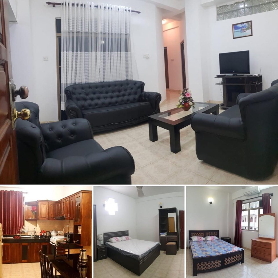 3 Bedroom Fully Furnished Apartment For Rent At Milagiriya